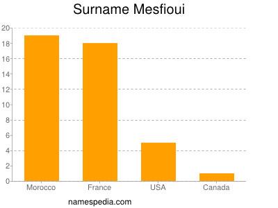 Surname Mesfioui