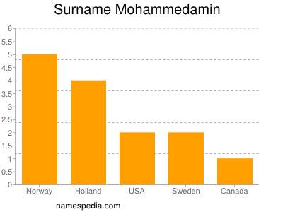 Surname Mohammedamin
