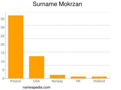 Surname Mokrzan
