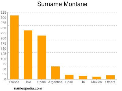 Surname Montane