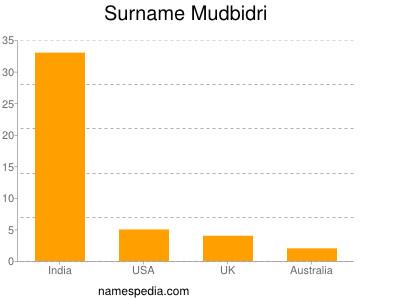Surname Mudbidri
