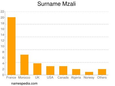 Surname Mzali