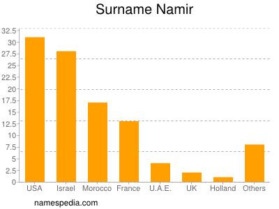 Surname Namir
