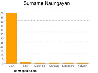 Surname Naungayan