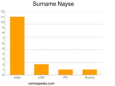 Surname Nayse