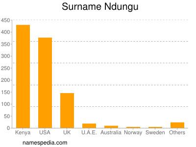 Surname Ndungu