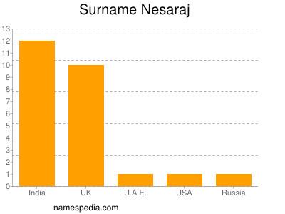 Surname Nesaraj
