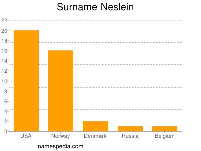 Surname Neslein