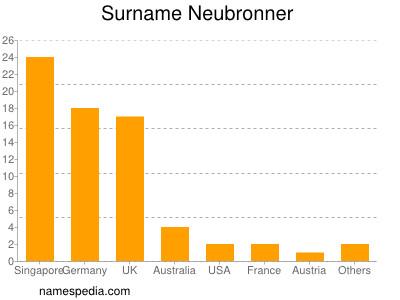 Surname Neubronner