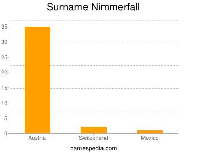 Surname Nimmerfall
