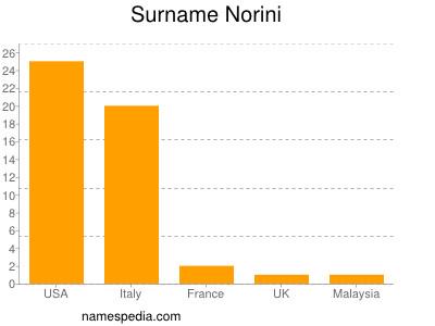 Surname Norini