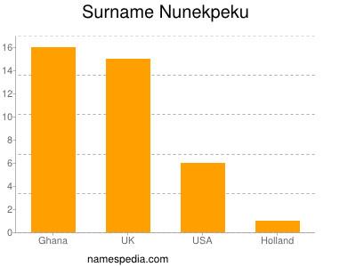Surname Nunekpeku