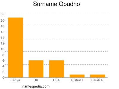 Surname Obudho