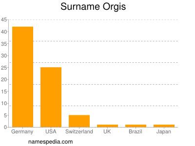 Surname Orgis