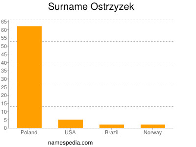 Surname Ostrzyzek
