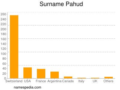 Surname Pahud