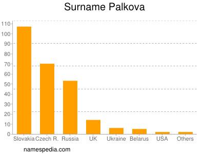 Surname Palkova