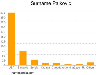 Surname Palkovic