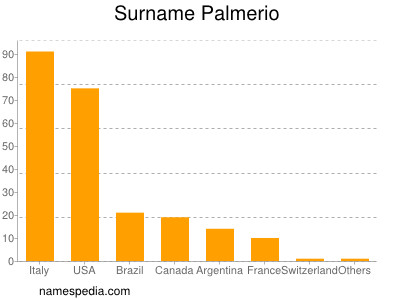 Surname Palmerio