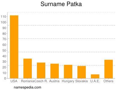 Surname Patka