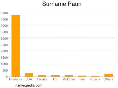 Surname Paun