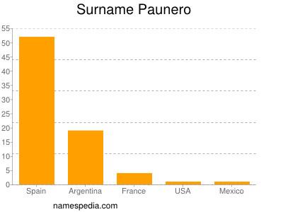 Surname Paunero