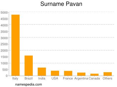 Surname Pavan
