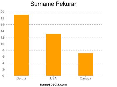 Surname Pekurar