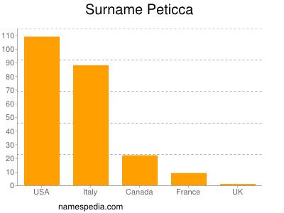 Surname Peticca