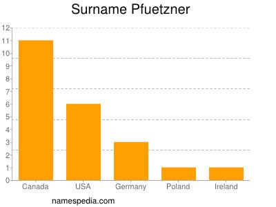 Surname Pfuetzner