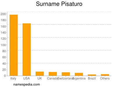 Surname Pisaturo