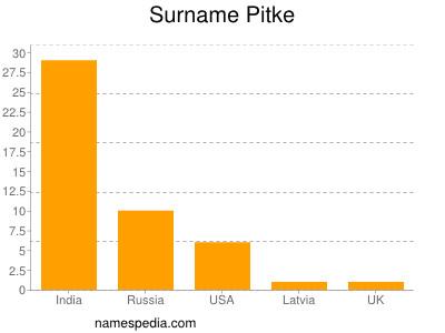 Surname Pitke