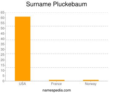 Surname Pluckebaum