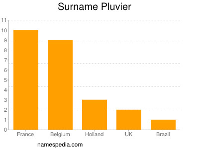 Surname Pluvier
