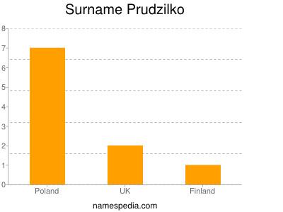 Surname Prudzilko