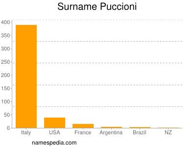Surname Puccioni