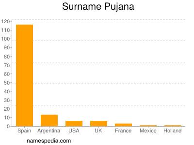 Surname Pujana