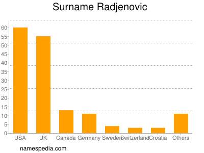 Surname Radjenovic