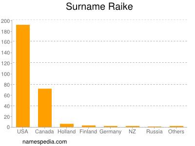 Surname Raike