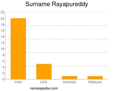 Surname Rayapureddy