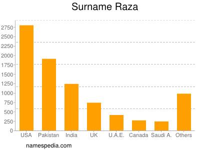 Surname Raza