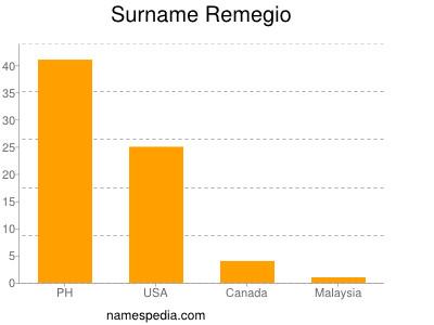 Surname Remegio