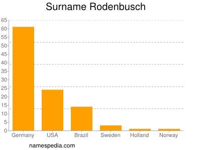 Surname Rodenbusch