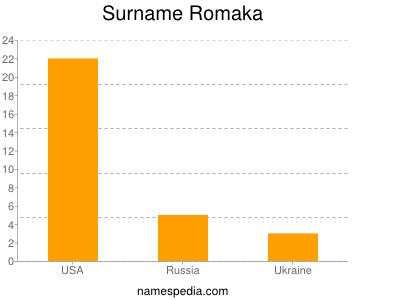 Surname Romaka