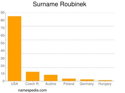 Surname Roubinek