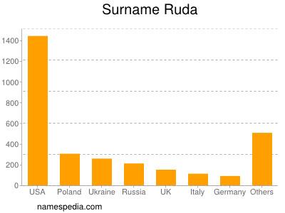 Surname Ruda