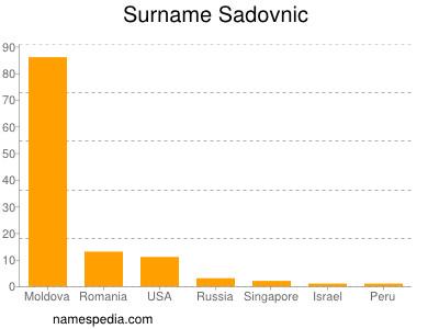 Surname Sadovnic