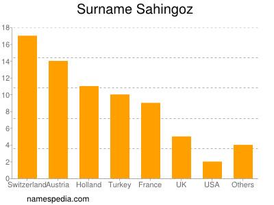 Surname Sahingoz