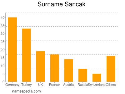 Surname Sancak