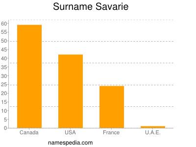 Surname Savarie